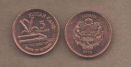 GUYANA # 5 DOLLAR 2002 KM51 - Guyana