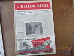 LE SILLON BELGE DU 22 OCTOBRE 1955 AVEC LES TAUREAUX QUI ONT PROFITE DE LA LIBERTE ET DE LA PAIX,SANS NAPOLEON LE SUCRE - Animals