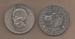 GUYANA # 1 DOLAR 1970 KM36 - Guyana