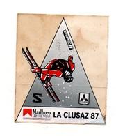 Autocollant Marlboro La Clusaz 87 - Format : 9.5x8cm - Stickers