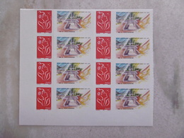 2006  NO YT 3802A * *   MARIANNE DE LAMOUCHE BLOC DE 8  LOGO  BATAILLE DE LAUTIRON 1945  2005 - Personnalisés