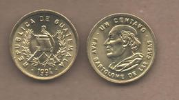GUATEMALA # 1 CENTAVO 1994  KM275 - Guatemala