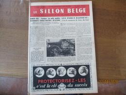 LE SILLON BELGE DU 4 JUIN 1955 MUNICH 1955 TRACTEURS LES PETITS MODELES,LES PORCS BAISSENT C'EST LE MOMENT DE FAIRE DU B - Other
