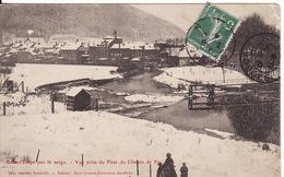 88 RAON L'ETAPE Vue Prise Du Pont Du Chemin De Fer - Raon L'Etape
