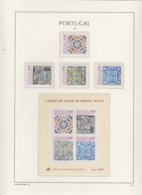 Portugal    .    Page Avec Timbres   .        **     .       Neuf SANS Charnière  .   /   .   MNH - Unused Stamps