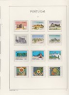 Portugal    .    Page Avec Timbres   .        **     .       Neuf SANS Charnière  .   /   .   MNH - Neufs