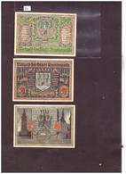 3 NOTGELD DER STADT FINSTERWALDE - TB - [11] Local Banknote Issues