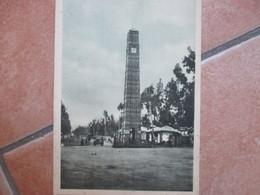 Colonie Italiane  ETIOPIA Addis Abeba Obelisco Torre Piazza Orologio Ediz.Ravaglioli - Ethiopia