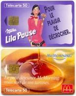 L14e) 2 Télécartes (50) France 1996-1998 - France