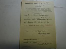 GIULIANOVA     -- TERAMO  --   OSPEDALE  MILITARE TERRITORIALE  ROSA MALTONI - Italia
