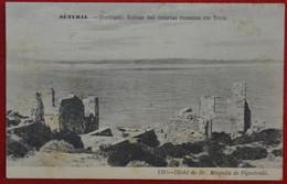 Postcard Of The   Setubal   /  Ruinas Das Cetarias Romanas Em Troia   ( Lote N º 1096 ) - Setúbal