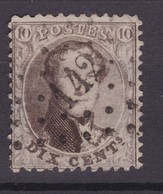 N° 14 B : 142 GAVERE  BUREAU DE DISTRIBUTION - 1863-1864 Medaillen (13/16)
