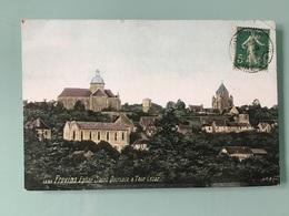 PROVINS. — Eglise Saint Quiriace & Tour César - Provins