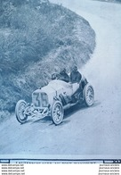 1908 COURSE AUTOMOBILE - LE GRAND PRIX DE L' À. C. F. CIRCUIT DE DIEPPE - LAUTENSCHLAGER - HEMERY - RIGAL - STANG - ERLE - Newspapers