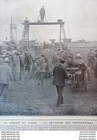 1908 COURSE AUTOMOBILE - LE GRAND PRIX DE L' À. C. F. CIRCUIT DE DIEPPE - LAUTENSCHLAGER - JENATZY - HEMERY - HANRIOT... - Zeitungen