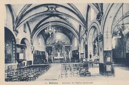 Belesta - Ariège - Intérieur De L'Eglise Paroissiale - France