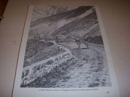 CYCLISME COUPURE LIVRE T233 TdF1929 PANCERA Et CARDONA Dans Le COL Du GALIBIER - Deportes