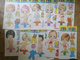 Cut Out Dolls A Decouper Poupees Bambole 1973 - Muñecas