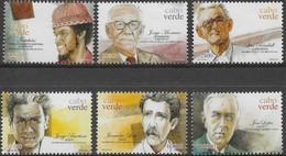 CABO VERDE 2003 POETAS & COMPOSITORES -  POETS AND COMPOSERS OF CAPE VERDE - POÈTES ET COMPOSITEURS DU CAP VERT - Kap Verde