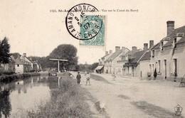CPA - 18 - ST-AMAND-MONTROND - Vue Sur Le Canal Du Berry - Saint-Amand-Montrond