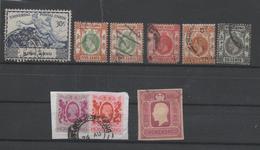 Hong Kong 9 Used Stamps 1903-82 - Hong Kong (...-1997)