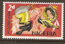 Nigeria  1963 SG 222a  Weaver Bird   Unmounted Mint - Nigeria (...-1960)