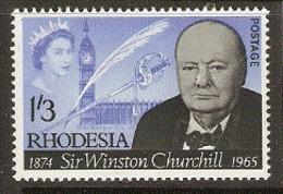 Rhodesia  1965  SG 357  Churchill   Unmounted Mint - Rhodésie (1964-1980)