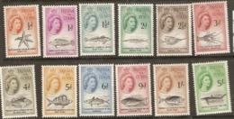 Trstan Da Cunha  1960  SG  28-40  Marine Life Excludeing SG 39   Mounted Mint - Tristan Da Cunha