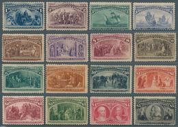 USA Columb Set 1893 MH - Neufs