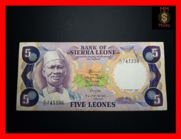 SIERRA LEONE  5 Leones 4.8.1985  P. 7 G  VF - Sierra Leone