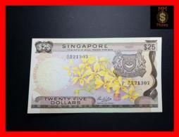 SINGAPORE 25 $  1972 P. 4  VF \ XF - Singapore