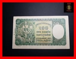 SLOVAKIA 100 Korun 7.10.1940  P. 11 S  UNC - Slowakei