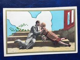 """""""Ambiance Surréaliste-couple Couché Sur Les Marches D'un Escalier S'embrassent-""""(2413) - Couples"""