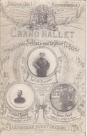 Soldat Armée Militaire Belge Grand Hallet  Photo Carte - War, Military