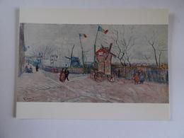 Carte Double Vincent Van Gogh 1853-1890 Montmartre 1887    97 X 129 Cm - Other Collections