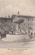 MANCIANO - FONTANA MONUMENTALE - Grosseto