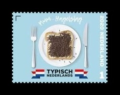 Netherlands 2020 Mih. 3914 Tipically Dutch. Gastronomy. Hagelslag MNH ** - Periodo 2013-... (Willem-Alexander)