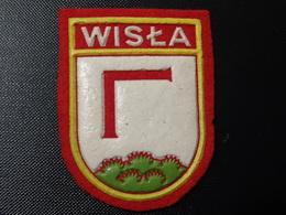 Blason écusson Tissu Feutrine Wista Pologne  Wappen Coat Of Arms Stemma - Patches