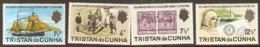 Tistan Da Cunha  1971  SG  149-52  Anniversary Shackleton Expedition Unmounted Mint - Tristan Da Cunha