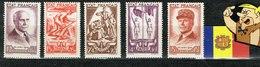 FRANCE 1943 YVERT 576 80 5V NEUFS - Ongebruikt