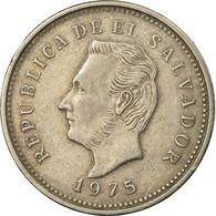 Monnaie, El Salvador, 5 Centavos, 1975, TTB, Copper-Nickel Clad Steel, KM:149 - El Salvador