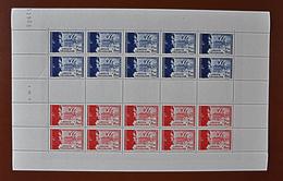 1942 - POUR LA LEGION TRICOLORE - FEUILLE COMPLETE - N°F565b TIMBRES NEUFS** - Full Sheets