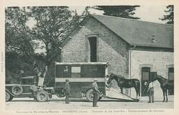 Mahéru - Domaine De La Louvière - Embarquement De Chevaux - France