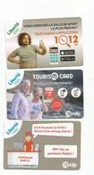 Les 3 Derniéres Cartes      1000cfp Et 3000 Cfp    (clasyverouge21) - Nouvelle-Calédonie