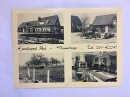 1960 CP Vlamertinge Landjuweel Hof Région Ypres Ieper Poperinge - Ieper