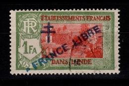 Inde - YV 161 Oblitere , France Libre - Oblitérés