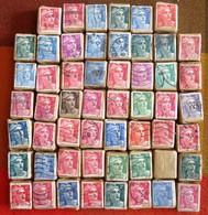 France - Vrac De 54 Bottes De 100 De Marianne De Gandon - Lot Of 54 Bundles Of Marianne (design A147) - 1945-54 Marianne De Gandon