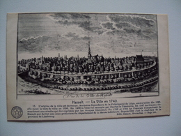 Hasselt  ~~ La  Ville  En  1740 - Hasselt