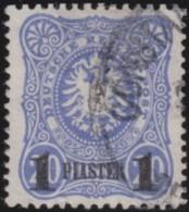 Deutsch Turkei   .   Michel  .    3      .       O      .     Gebraucht   /   .   Cancelled - Bureau: Turquie