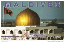 *IS. MALDIVE - 50MLDC* - Scheda Usata - Maldiven